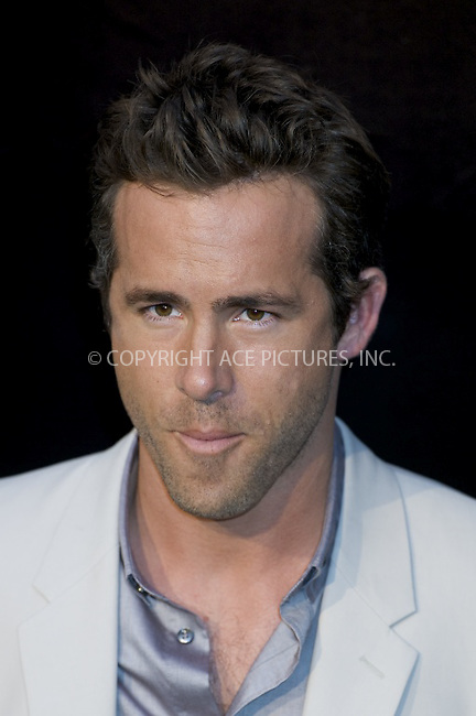 WWW.ACEPIXS.COM . . . . .  ..... . . . . US SALES ONLY . . . . .....July 21 2011, Madrid....Actor Ryan Reynolds arrives at the premiere of the movie 'Green Lantern', on July 21 2011 in Madrid....Please byline: FD/ACE Pictures, Inc.... . . . .  ....Ace Pictures, Inc:  ..Tel: (212) 243-8787..e-mail: info@acepixs.com..web: http://www.acepixs.com