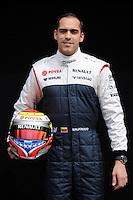 WILLIAMS RENAULT VENEZUELAN DRIVER PASTOR MALDONADO. .Melbourne 16/03/2013 .Formula 1 Gp Australia.Foto Insidefoto.ITALY ONLY .Posato Ritratto Pilota
