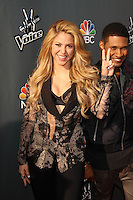 """Shakira<br /> at NBC's """"The Voice"""" Red Carpet Event, The Sayers Club, Hollywood, CA 04-03-14<br /> David Edwards/DailyCeleb.Com 818-249-4998"""