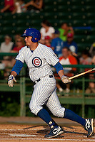 May 7 2010: Rebel Ridling (33) of the  Daytona Cubs during a game vs. the Clearwater Threshers at Jackie Robinson Ballpark in Daytona Beach, Florida. Daytona, the Florida State League High-A affiliate of the Chicago Cubs, lost the game against Clearwater, affiliate of the Philadelphia Phillies, by the score of 8-3.  Photo By Scott Jontes/Four Seam Images