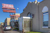 The Eleventh Street Lofts now occupy an old laundromat and dry-cleaning facility on Route 66 in Tulsa Oklahoma.