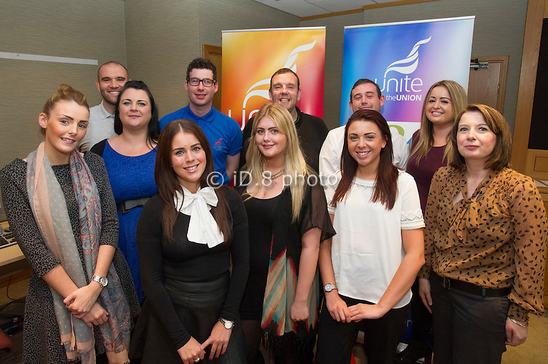 L-R back row-  Lee Pugh, Anthony Curley, Chris Travic, Mick Carr, Nat Emmett. Middle- Helen Camp (Project Development Officer, blue dress) Front row- Jennifer Hannon, Hannah Lloyd, Grace Gavigan, Sarah Decker and Alison Spencer-Scragg (Regional Officer)