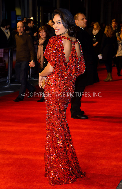 WWW.ACEPIXS.COM....US Sales Only....March 19 2013, London....Rosario Dawson at the World premiere of 'Trance' held at the Odeon West End on March 19 2013  in London ....By Line: Famous/ACE Pictures......ACE Pictures, Inc...tel: 646 769 0430..Email: info@acepixs.com..www.acepixs.com
