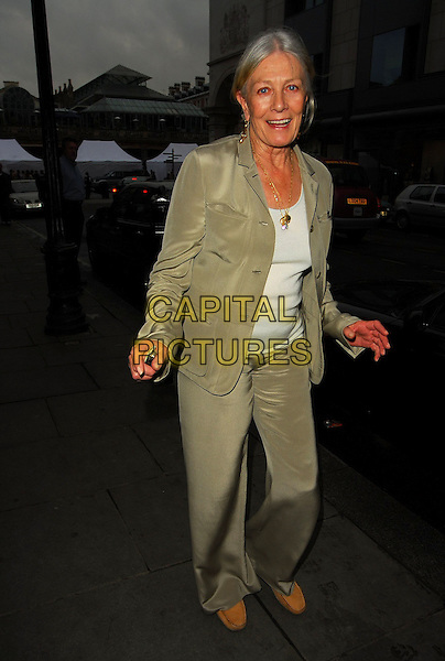 VANESSA REDGRAVE.At the Theatre Museum Fundraising Reception, Theatre Museum, London, England, May 16th 2006..full length .Ref: CAN.www.capitalpictures.com.sales@capitalpictures.com.©Can Nguyen/Capital Pictures