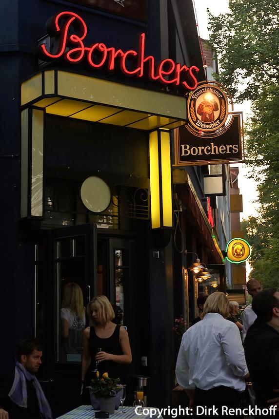 Café und Restaurant Borchers, Geschwister-Scholl-Str. 1-3, Hamburg Eppendorf, Deutschland