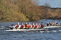 0LEA-Van De Giessen .IM2.8+ .Lea RC. Wallingford Head of the River. Sunday 27 November 2011. 4250 metres upstream on the Thames from Moulsford railway bridge to Oxford Universitiy's Fleming Boathouse in Wallingford. Event run by Wallingford Rowing Club..