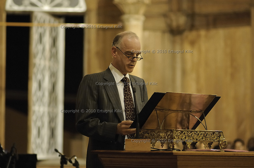 Aart Jacobi The Netherlands Ambassador to the Republic of Suriname during his speech.......Official Opening Ceremony of ST. Petrus and Paulus Cathedral (AKA World's largest wooden cathedral)