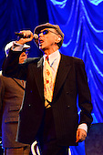 Dexys - vocalist Kevin Rowland - performing live their new album 'One Day I'm Going To Soar' on the first of nine shows at the Duke of York Theatre in London UK - 15 Apr 2013.  Photo credit: George Chin/IconicPix