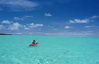 Lonely Kayak in Yap