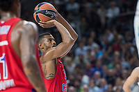 CSKA Moscu Cory Higgins during Turkish Airlines Euroleague match between Real Madrid and CSKA Moscu at Wizink Center in Madrid, Spain. October 19, 2017. (ALTERPHOTOS/Borja B.Hojas) /NortePhoto.com
