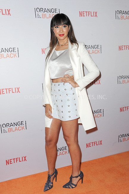 WWW.ACEPIXS.COM<br /> June 11, 2015 New York City<br /> <br /> Jackie Cruz attending the 'Orangecon' Fan Event at Skylight Clarkson SQ on June 11, 2015 in New York City.<br /> <br /> Credit : Kristin Callahan/ACE Pictures<br /> Tel: (646) 769 0430<br /> e-mail: info@acepixs.com<br /> web: http://www.acepixs.com