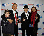 Tony Castellanos and Family- New Year's Eve 2016 and Times Square Ball Drop at The Copacabana, New York City, New York. (Photo by Sue Coflin/Max Photos)  suemax13@optonline.net