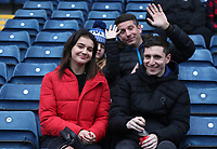 Blackburn Rovers' Fans at the start of todays match<br /> <br /> Photographer Rachel Holborn/CameraSport<br /> <br /> The EFL Sky Bet Championship - Blackburn Rovers v Sheffield Wednesday - Saturday 1st December 2018 - Ewood Park - Blackburn<br /> <br /> World Copyright © 2018 CameraSport. All rights reserved. 43 Linden Ave. Countesthorpe. Leicester. England. LE8 5PG - Tel: +44 (0) 116 277 4147 - admin@camerasport.com - www.camerasport.com