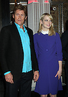 June 25, 2012 Denis Leary and Emma Stone of The Amazing Spider-man film, attend the lighting ceremony  to support Stand Up to Cancer at the Empire State Building in New York City. &copy; RW/MediaPunch Inc. **NORTEPHOTO.COM*<br />