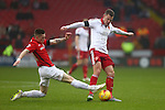 Coventry's Ryan Kent tackles Sheffield United's Paul Coutts - Sheffield United vs Coventry City - SkyBet League One - Bramall Lane - Sheffield - 13/12/2015 Pic Philip Oldham/SportImage