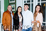 John Sheehan, Shauna O'Donoghue, Ryan and Freda Sheehan at the Fossa GAA social in the Dromhall Hotel on Friday night