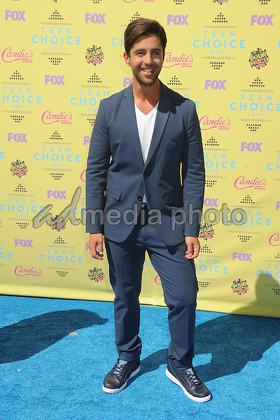 16 August 2015 - Los Angeles, California - Josh Peck. Teen Choice Awards 2015 - Arrivals held at the USC Galen Center. Photo Credit: Byron Purvis/AdMedia