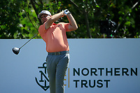 Tyrrell Hatton (ENG) during the third round of the Northern Trust. 10/08/2019<br /> Picture: Golffile | Michael Cohen<br /> <br /> All photo usage must carry mandatory copyright credit (© Golffile | Phil Inglis)
