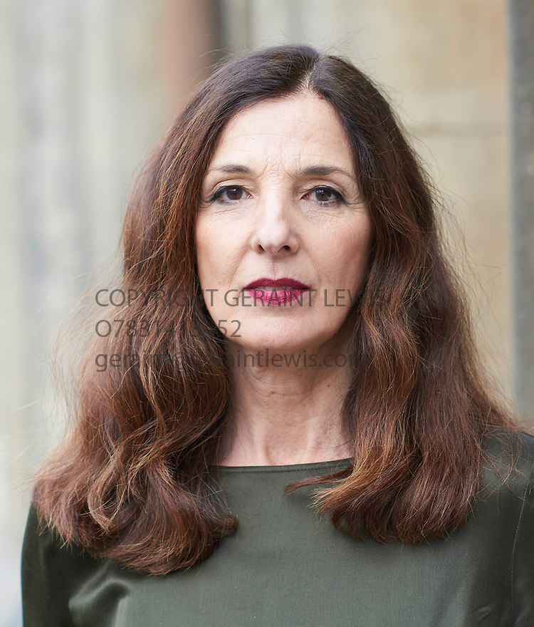 Francesca D'Aloja, Italian actress of film, TV and Stage  at The Oxford Literary Festival 2017 CREDIT Geraint Lewis