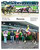 Manando winning at Delaware Park on 6/16/16