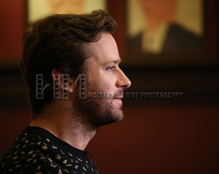 attends photo call for the Second Stage Theatre Company production of 'Straight White Men'  at Sardi's on June 14 30, 2018 in New York City.