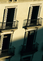Apartment block on the diaganol Barcelona