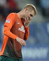 FUSSBALL   1. BUNDESLIGA  SAISON 2012/2013   7. Spieltag FC Augsburg - Werder Bremen          05.10.2012 Aaron Hunt (SV Werder Bremen)