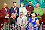 Business awards at the Tralee Tidy Town awards at the Manor West hotel on Tuesday night front from left: Liz Lawlor, Cutting Edge Hair Studio, Mayor Pat Hussey and Stephenie McCarthy, Topaz . Back from left: John O'Sullivan, Munster Bar, Padraig McGillycuddy, Ballygarry House Hotel, Mairead Fernane, For Don Nolan, Mossy Hogan, Turners Bar, and Danny Leane, The Abbey Inn.
