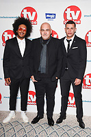 LONDON, UK. September 10, 2018: Nathan Byron &amp; Julian Moore-Cook at the TV Choice Awards 2018 at the Dorchester Hotel, London.<br /> Picture: Steve Vas/Featureflash