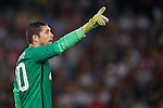 Juan Pablo Carrizo of FC Internazionale Milano looks on during the AC Milan vs FC Internazionale Milano as part of the International Champions Cup 2015 at the Longgang Stadium on 25 July 2015 in Shenzhen, China. Photo by Aitor Alcalde / Power Sport Images