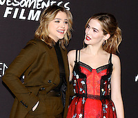 www.acepixs.com<br /> <br /> March 1 2017, LA<br /> <br /> (L-R) Actresses Chloe Grace Moretz and Zoey Deutch arriving at the premiere of 'Before I Fall' at the Directors Guild Of America on March 1, 2017 in Los Angeles, California.<br /> <br /> By Line: Nancy Rivera/ACE Pictures<br /> <br /> <br /> ACE Pictures Inc<br /> Tel: 6467670430<br /> Email: info@acepixs.com<br /> www.acepixs.com