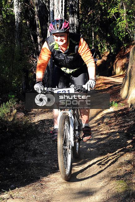 Nelson Mt Bike Club's 6-hour Mid-Winter Breakout at Kaiteriteri MT bike Park. Motueka, Nelson, New Zealand. Sunday 23 June 2013. Photo: Chris Symes/www.shuttersprt.co.nz