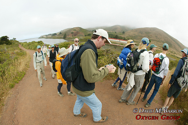 Coastwalk Team On Rodeo Lagoon Trail