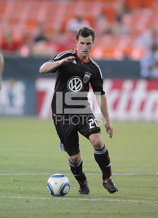DC United midfielder Stephen King (20)  DC United defeated Real Salt Lake 2-1 to advance to the round of 16 of the  U.S. Open Cup at RFK Stadium, Wednesday  June 2  2010.