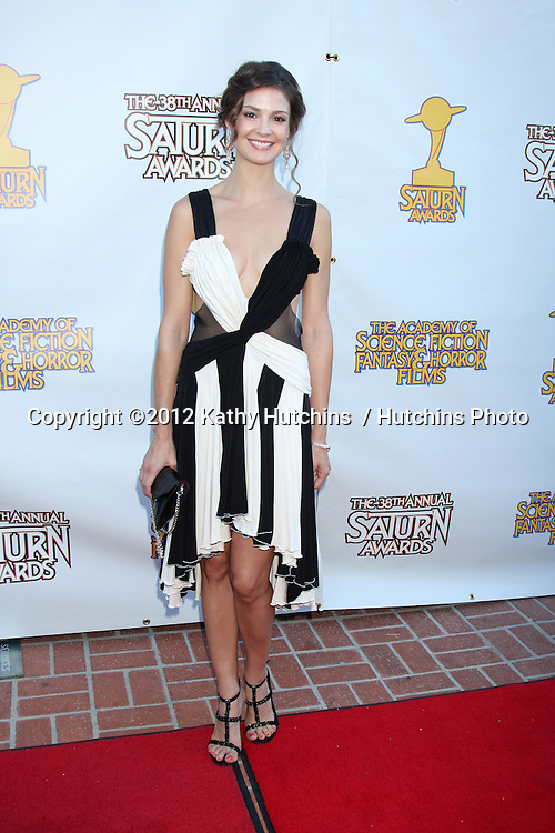 LOS ANGELES - JUL 26:  Tiffany Brouwer arrives at the 2012 Saturn Awards at Castaways on July 26, 2012 in Burbank, CA