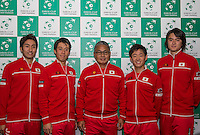Davis Cup - Barclaycard Arena - Japanese Press Conference - 02/03/2016