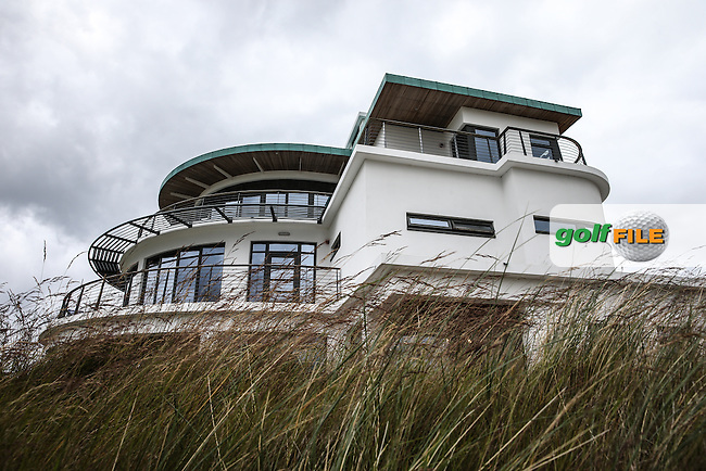 View of the clubhouse during Round Two of the 2016 Aberdeen Asset Management Scottish Open, played at Castle Stuart Golf Club, Inverness, Scotland. 08/07/2016. Picture: David Lloyd | Golffile.<br /> <br /> All photos usage must carry mandatory copyright credit (&copy; Golffile | David Lloyd)