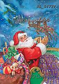 CHRISTMAS SANTA, SNOWMAN, WEIHNACHTSMÄNNER, SCHNEEMÄNNER, PAPÁ NOEL, MUÑECOS DE NIEVE, paintings+++++,KL5473V,#X#