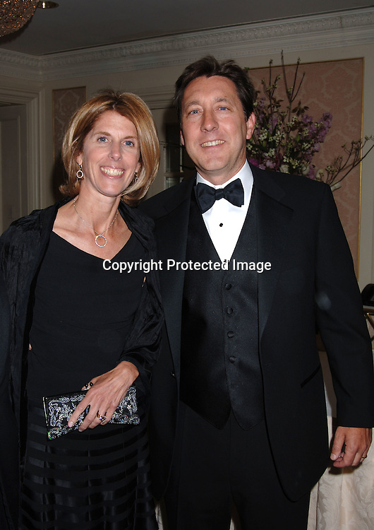 Honoree George Bodenheimer,  President of ESPN and ABC Sports and Co-Chairman of Disney  Media Nertworks and wife Ann ..at The Museum Of The Moving Image Dinner honoring..Geogre Bodenheimer and Stephen B Burke on ..May 4, 2006 at The St Regis Hotel. ..Robin Platzer, Twin Images