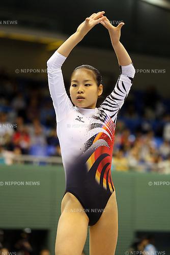 Yu Minobe (JPN), .April 7, 2013 - Artistic Gymnastics : .FIG Artistic Gymnastics World Cup, Tokyo Cup 2013 .Women's Individual All-round 2nd Day .at Komazawa Gymnasium, Tokyo, Japan. .(Photo by Daiju Kitamura/AFLO SPORT)