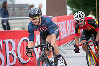 Picture by Allan McKenzie/SWpix.com - 14/07/17 - Cycling - HSBC UK British Cycling National Circuit Series - Velo29 Altura Criterium - Stockton, England - Brenton Jones.