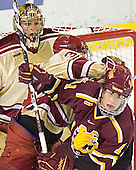 Peter Mannino, Julian Marcuzzi, Matt Stefanishion - The Ferris State Bulldogs defeated the University of Denver Pioneers 3-2 in the Denver Cup consolation game on Saturday, December 31, 2005, at Magness Arena in Denver, Colorado.