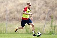 Getafe CF's Johannes Van den Bergh during training session. August 1,2017.(ALTERPHOTOS/Acero) /NortePhoto.com