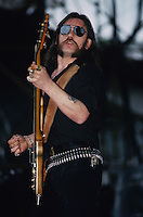 Motorhead  perform at the Monsters Of Rock Festival circa 1986
