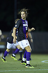 Tanner Binion (13) of the High Point Panthers during first half action against the Wake Forest Demon Deacons at W. Dennie Spry Soccer Stadium on October 9, 2018 in Winston-Salem, North Carolina. The Demon Deacons defeated the Panthers 4-2.  (Brian Westerholt/Sports On Film)