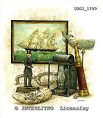 GIORDANO, STILL LIFE STILLLEBEN, NATURALEZA MORTA, paintings+++++,USGI1280,#I# maritim,male,sailing ship,moby dick