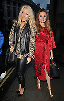 Amelia Lily and Emily Atack at the 2017/18 season NFL UK Kick Off party, Banking Hall, Lombard Street, London, England, UK, on Sunday 10 September 2017.<br /> CAP/CAN<br /> &copy;CAN/Capital Pictures