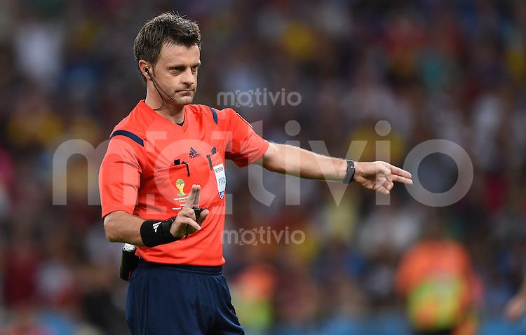 FUSSBALL WM 2014                FINALE Deutschland - Argentinien     13.07.2014 Schiedsrichter Nicola Rizzoli (Italien)