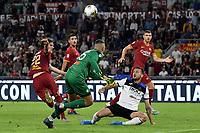Chance for Nicolo Zaniolo of AS Roma <br /> Roma 25-9-2019 Stadio Olimpico <br /> Football Serie A 2019/2020 <br /> AS Roma - Atalanta Bergamasca Calcio <br /> Foto Andrea Staccioli / Insidefoto