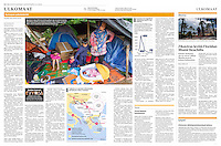 Helsingin Sanomat (leading Finnish daily) on refugees stuck at the Hungarian-Serbian border, August 2016<br />